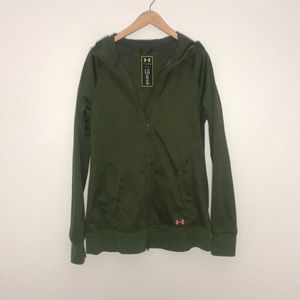 Under Amour Storm green hunting fleece jacket